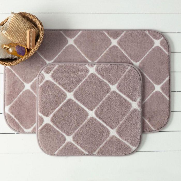 Madame Coco Aimée 2-Piece Bathmat - Damson