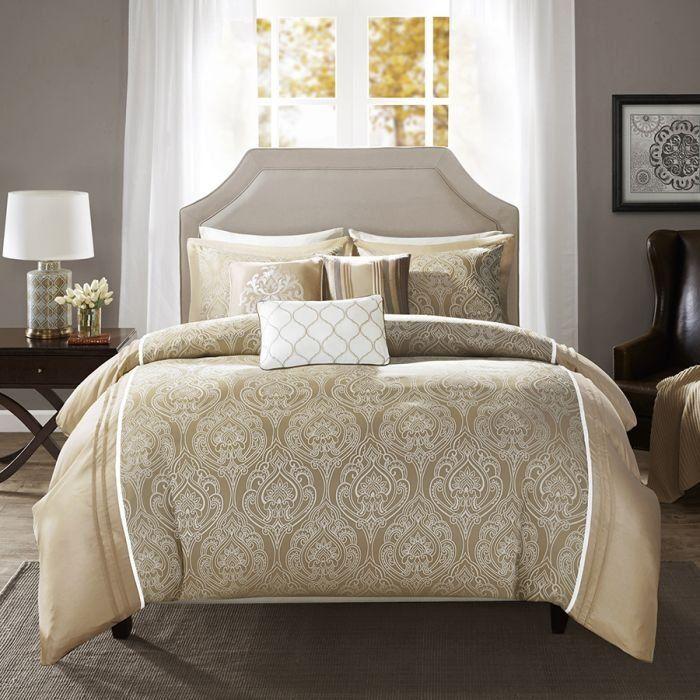 Nova Madison park-Maya Comforter Set 8 Pcs King Size