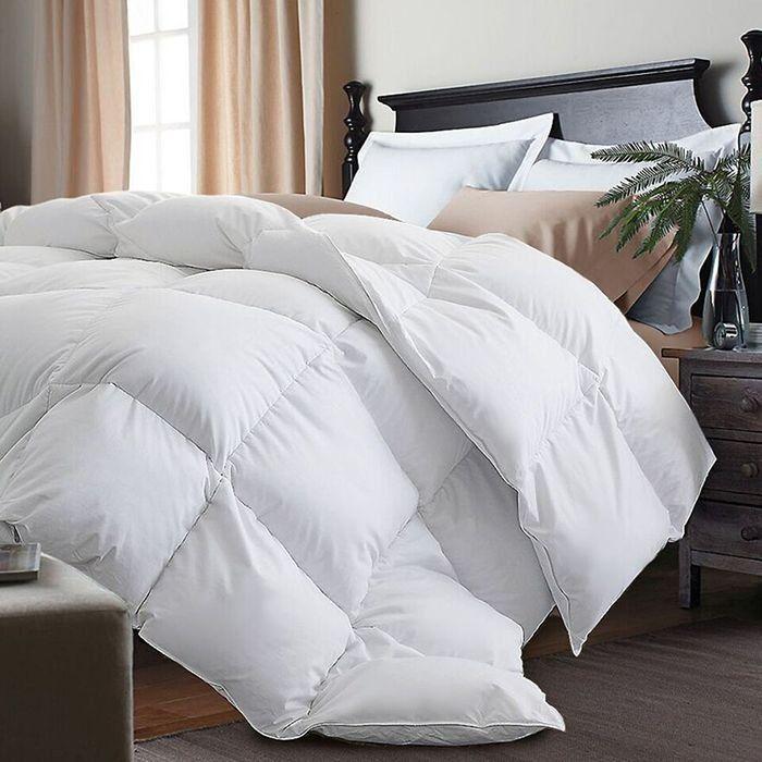 Nova Down Goose Comforter White