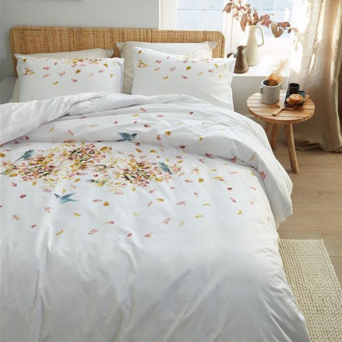 Bedding House Duvet Cover Set 100% Cotton Berries Pink