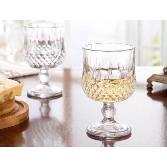 Madame coco Audrey Set of 6 Short Wine Glasses