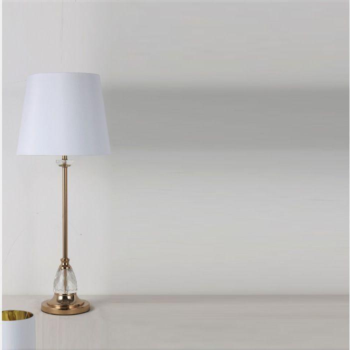 NOVA Table Lamp Cristy 77CM White