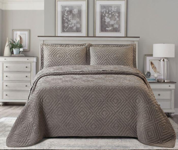 Nova Frame Jacquard Bedspread Set