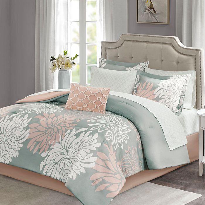 NOVA Comforter set Microfiber Maible Blush