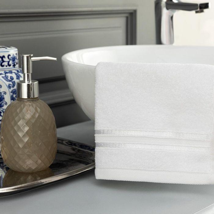 Madame Coco Maynor Border Flush Hand Towel