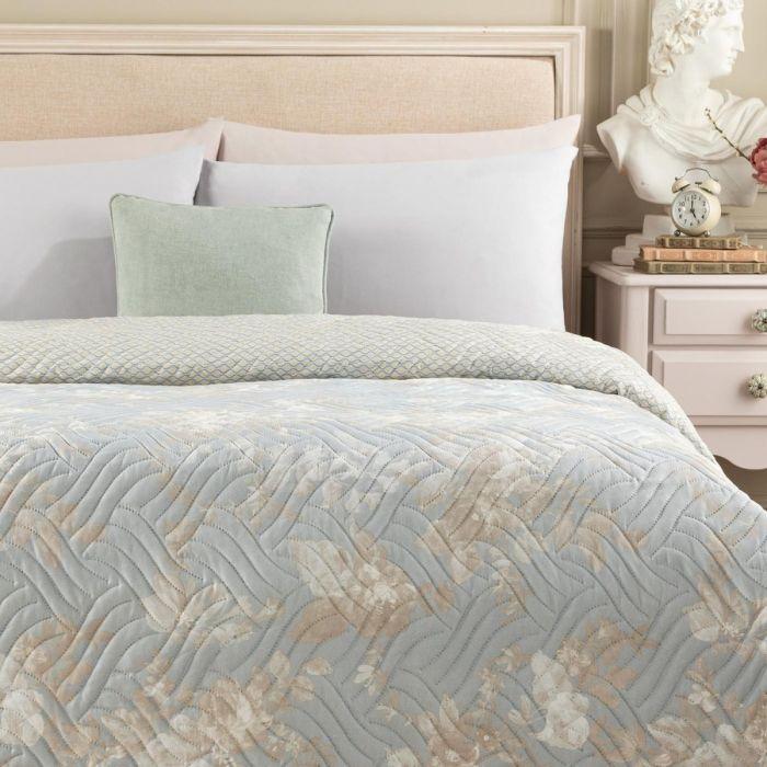 Madame Coco Curtice Printed Double Bedspread