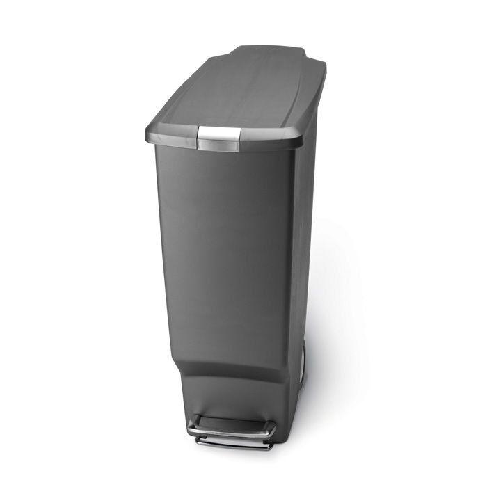 Simplehuman Slim Plastic Bin Basket 40L