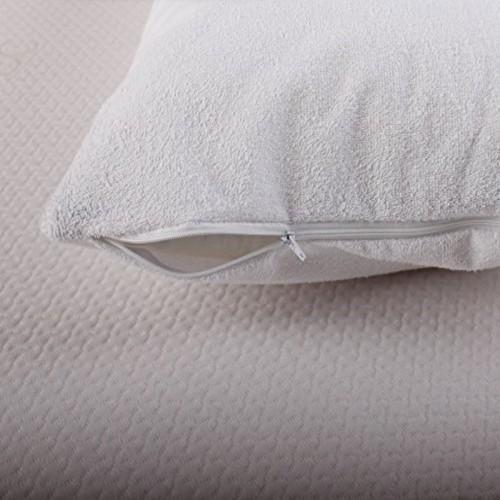 Nova Breath-Pro Pillow Case Protector 100% Cotton Standard White