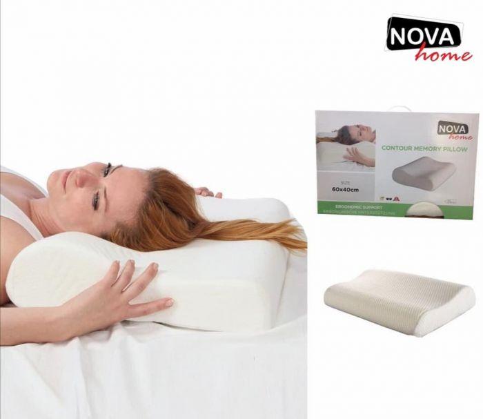 Nova Contour Memory Foam Pillow