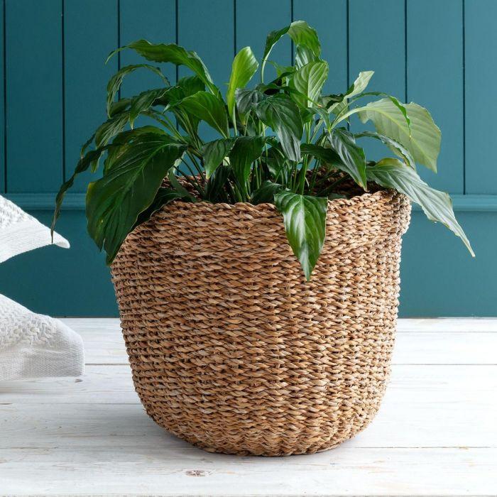 Madame Coco Adelphine Small Wicker Basket
