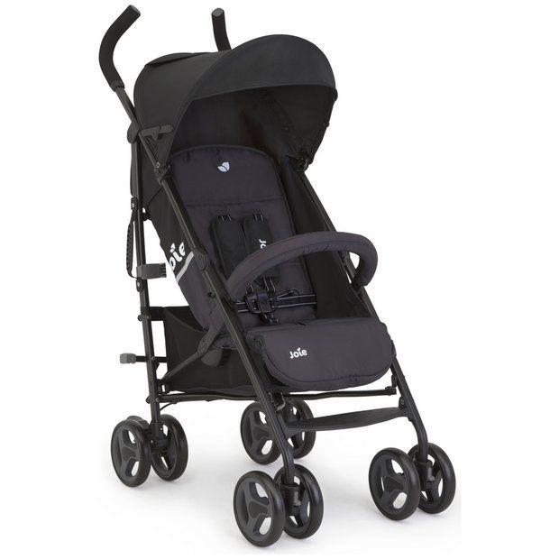 Joie Nitro LX Stroller- Two Tone Black
