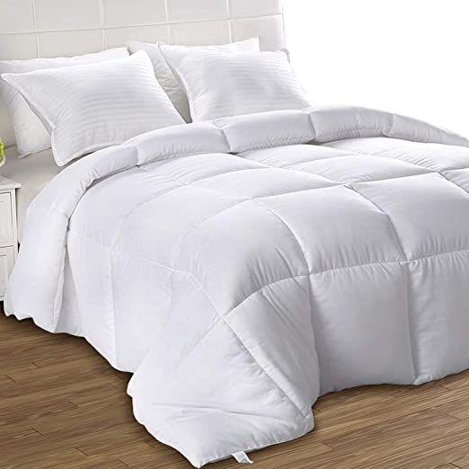 Nova Microfiber White Comforter