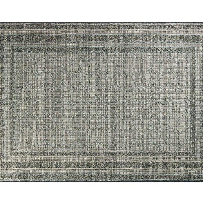Madame Coco Calantha Carpet - Light Gray / Dark Gray