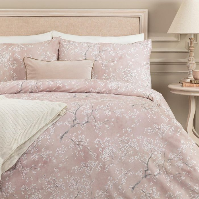 Madame coco Exorde Double Ranforce Printed Duvet Cover Set.