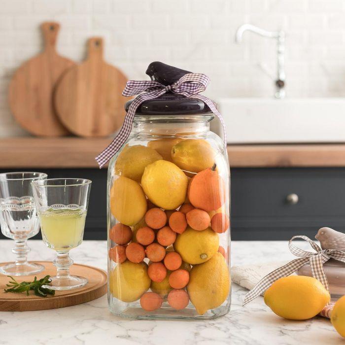 Madame Coco Oriel Square Glass Jar