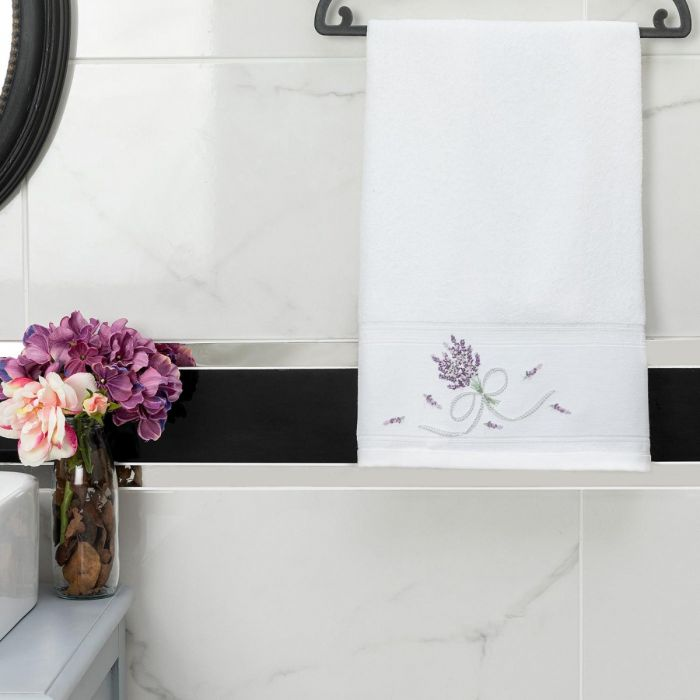 Madame Coco Trace Embroidered Face Towel