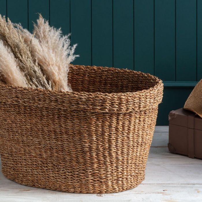 Madame Coco Adolie Large Wicker Basket