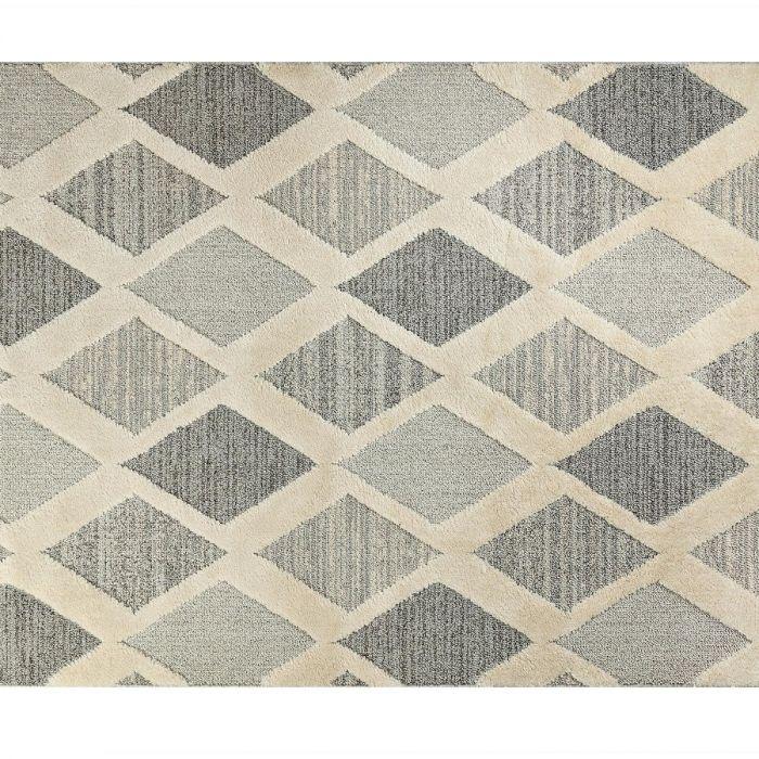Madame Coco Henri Carpet - Light Gray / Dark Gray
