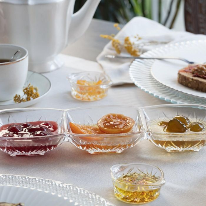 Madame Coco Margery Breakfast Set with 3 Compartments