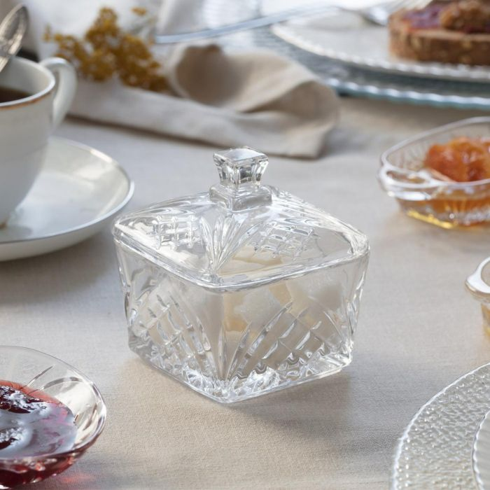 Madame Coco Margery 2-Piece Square Glass Box