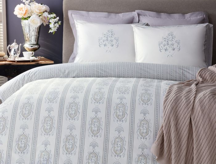 Madame Coco Alluch King-Size Satin Duvet Cover Set