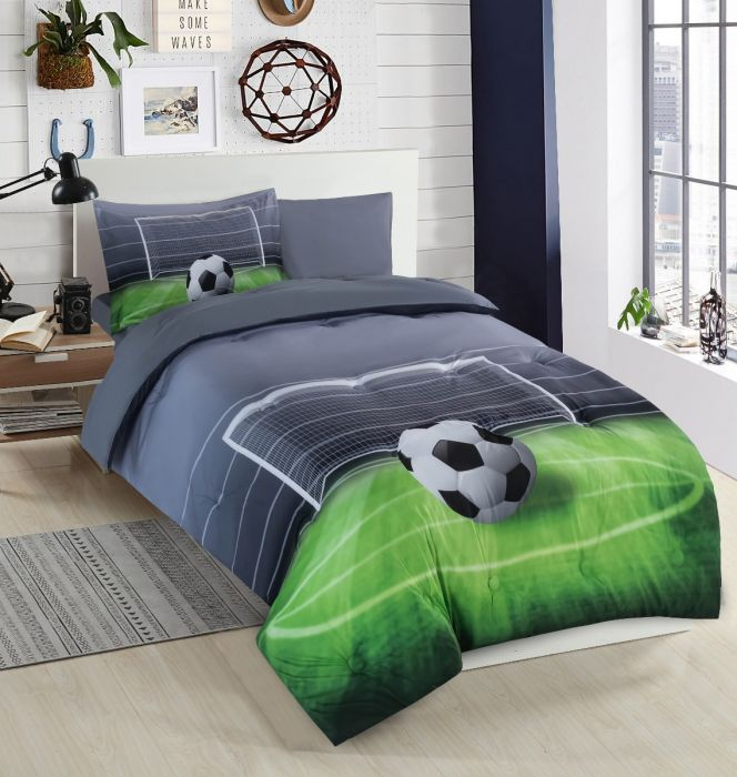 Nova Football baby comforter set