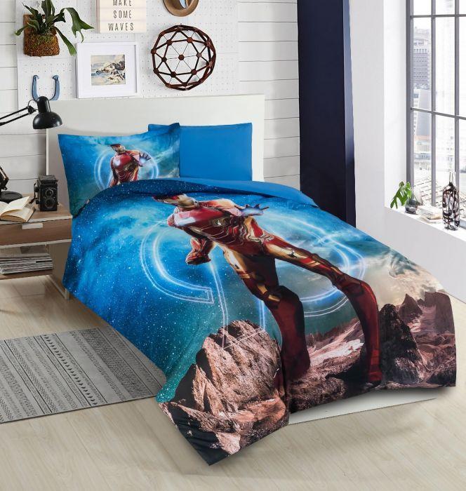 Nova Iron Man Baby Comforter Set