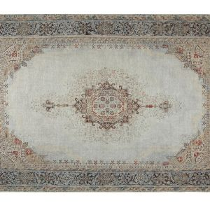 Madame Coco Mandel Digital Printed Carpet - Beige