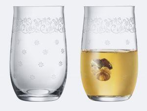 Lucinda 6-Piece Bohemian Crystal Beverage Glass Set
