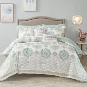 NOVA Comforter set Microfiber Sicily Aqua