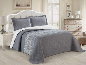 Nova Austin Jacquard Bedspread Set Blue
