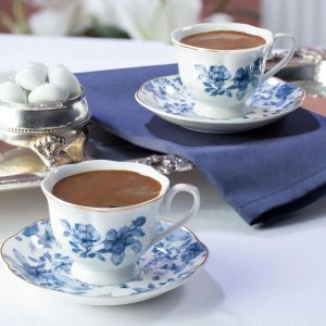 Madame Coco Le Meurice 4-Piece Round Coffee Cup Set