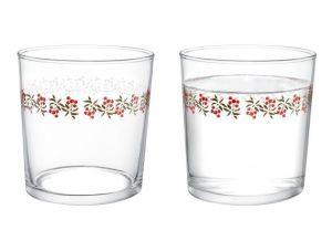 Madame coco pierretta-Cherry Bloom Set of 4 Water Glasses 380 ml