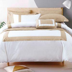 Nova Hotel Patch Luxury Duvet Cover 7pcs Set King Linen