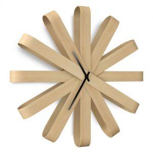 Umbra RibbonWood Wall Clock 4x6 Natural
