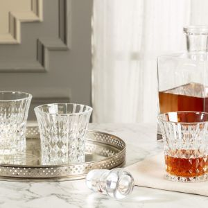 Madame Coco Stephanie Set of 4 Water Glasses