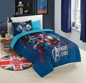 Nova Avengers kids comforter set