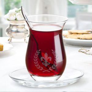 Madame Coco Fleur De Lys 6-Piece Tea Glass Set