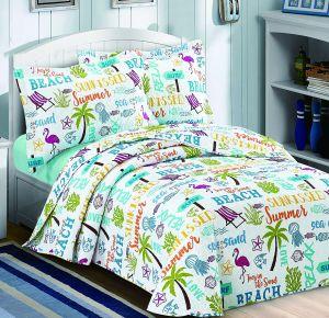 Nova Beach Bedspread Set