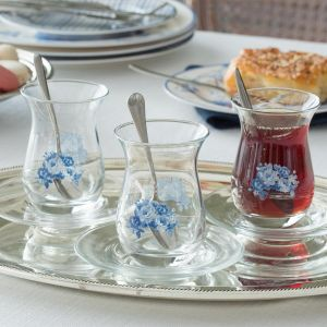 Madame Coco Cera 6-Piece Tea Glass
