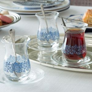 Madame Coco Lela 6-Piece Tea Glass