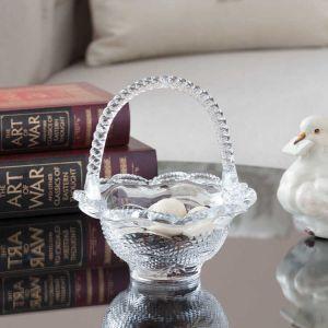 Gisella Glass Basket