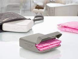Madame coco Graque Sanitary Pad Box - Gray
