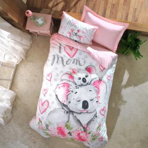 Nova Koala Cotton Duvet Cover 3Pcs Set